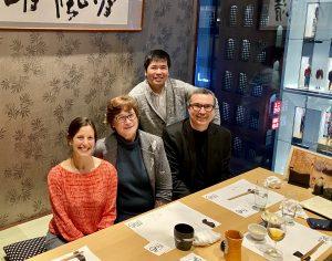 Princess Takamatsu Tokyo dinner with Maki and Marni