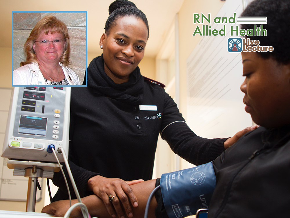 Preparing Patients for Treatment – Tammy Allred, RN, OCN — Wednesday, April 10th at Noon (RN and Allied Health Lecture)