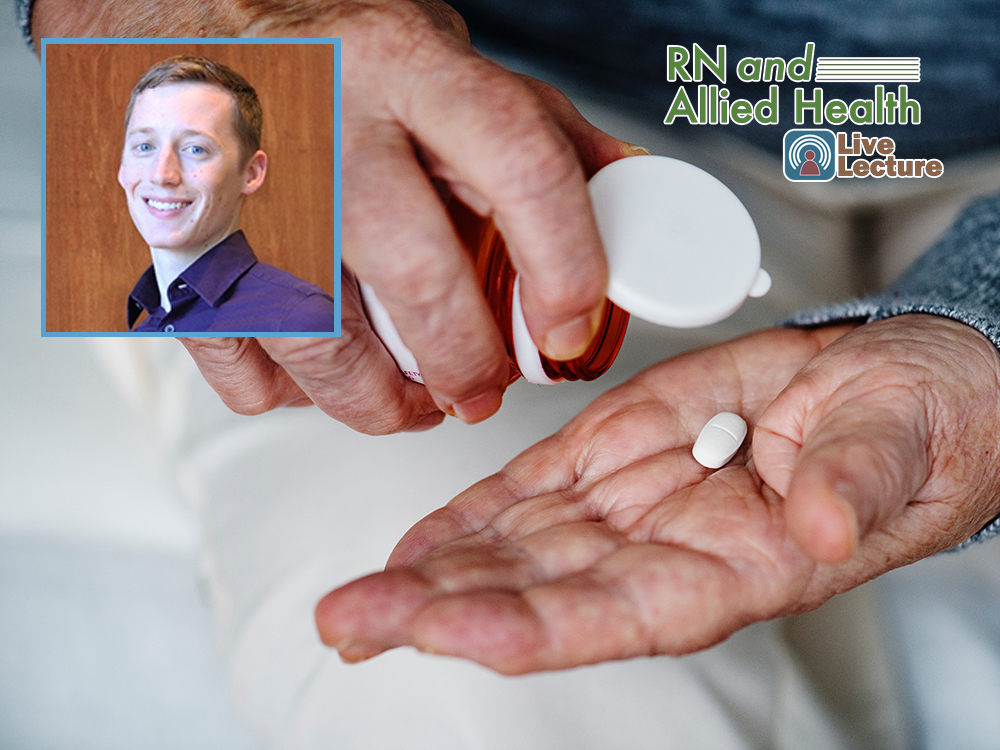 Safety Considerations When Managing Dietary Supplements in Cancer Care – Jacob Hill, ND, MS — Wednesday, February 13th at Noon (RN and Allied Health Lecture)