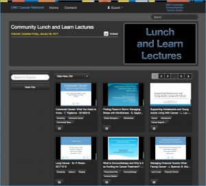 Community Lunch and Learn Lecture Video Library