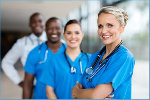Photo of medical and surgical oncology professionals