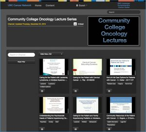 NC Community College Lecture Video Library