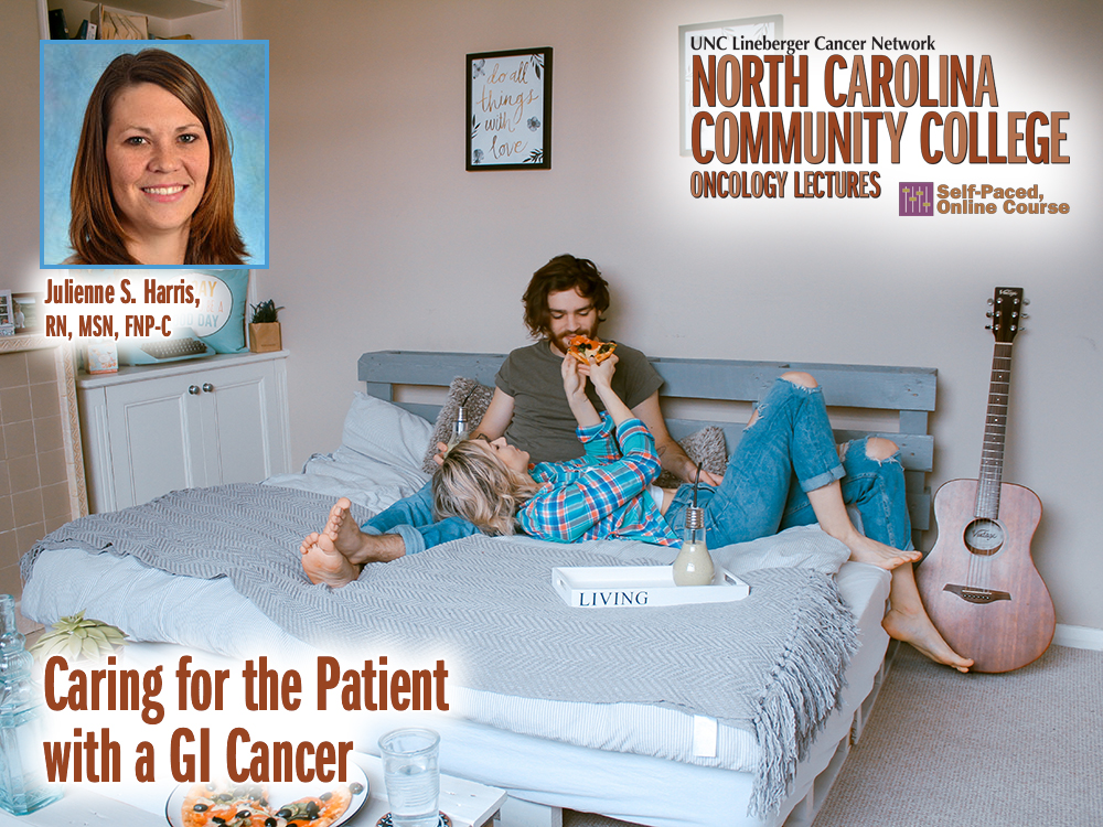 Caring for the Patient with Head and Neck Cancer – Julienne S. Harris, RN, MSN, FNP-C — Monday, March 18th at 10:00 AM (NC Community College Series Lecture)