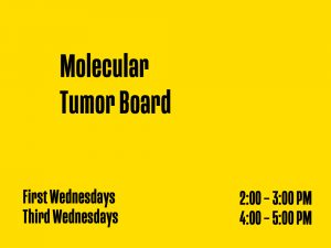 Molecular Tumor Board