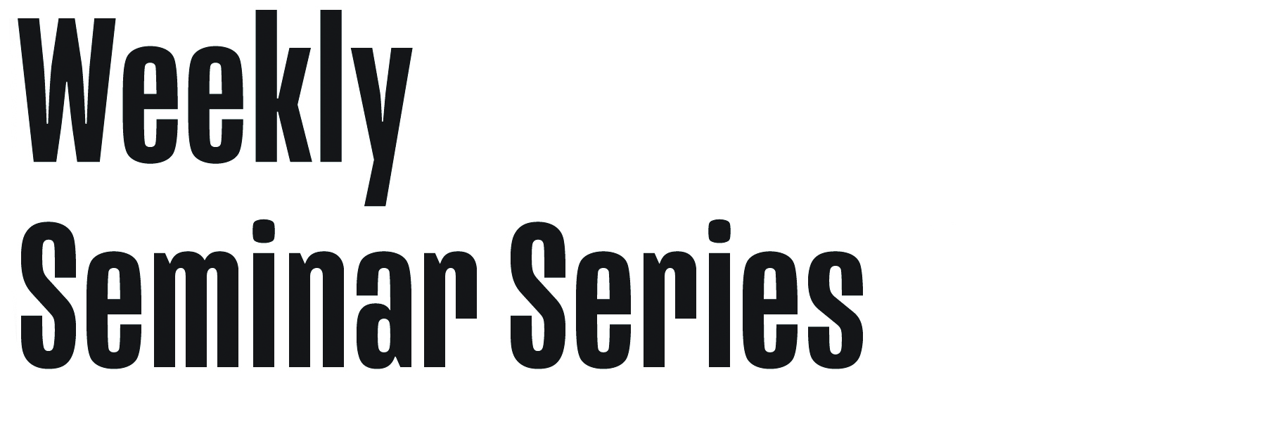 UNC Lineberger Weekly Seminar Series
