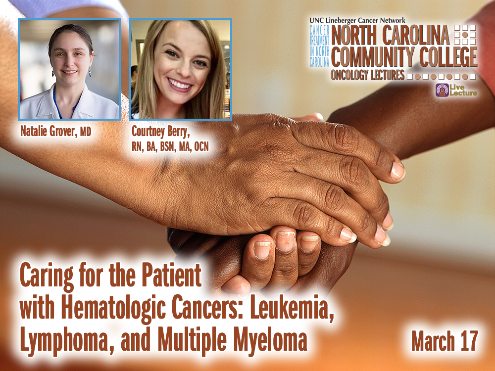 Caring for the Patient with Hematologic Cancers: Leukemia, Lymphoma, and Multiple Myeloma