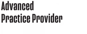 Advanced Practice Provider Logo