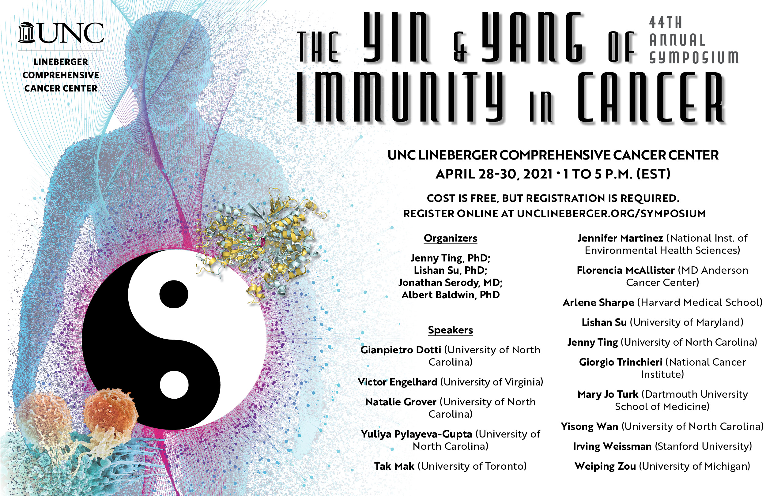 44th annual Lineberger Symposium: The Yin and Yang of Immunity in Cancer