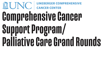 Comprehensive Cancer Support Program / Palliative Care Grand Rounds Logo