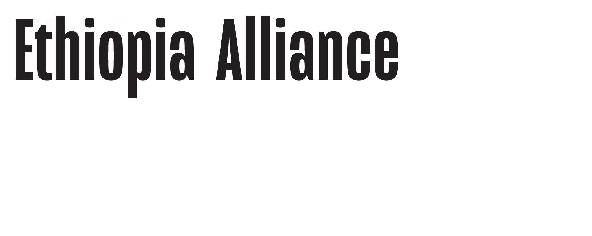UNC Ethiopia Alliance