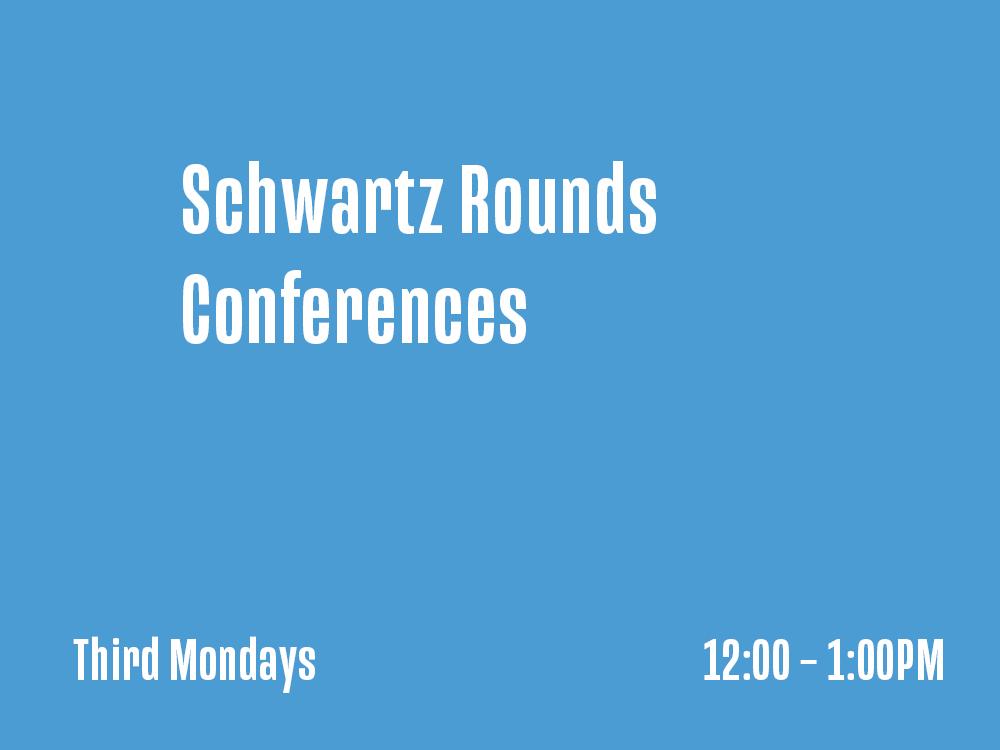 UNC Schwartz Rounds Conferences