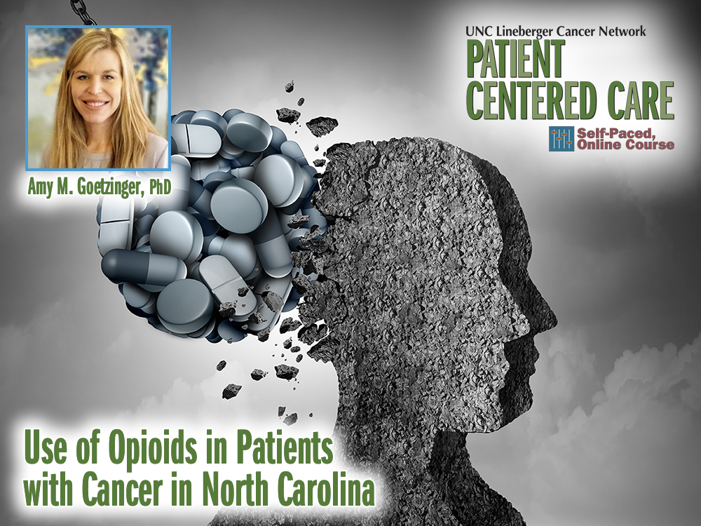 Use of Opioids in Patients with Cancer in North Carolina