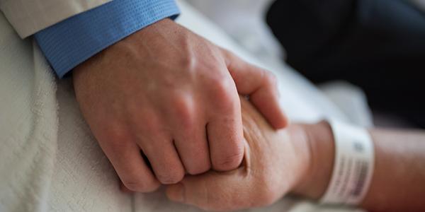Physician hand