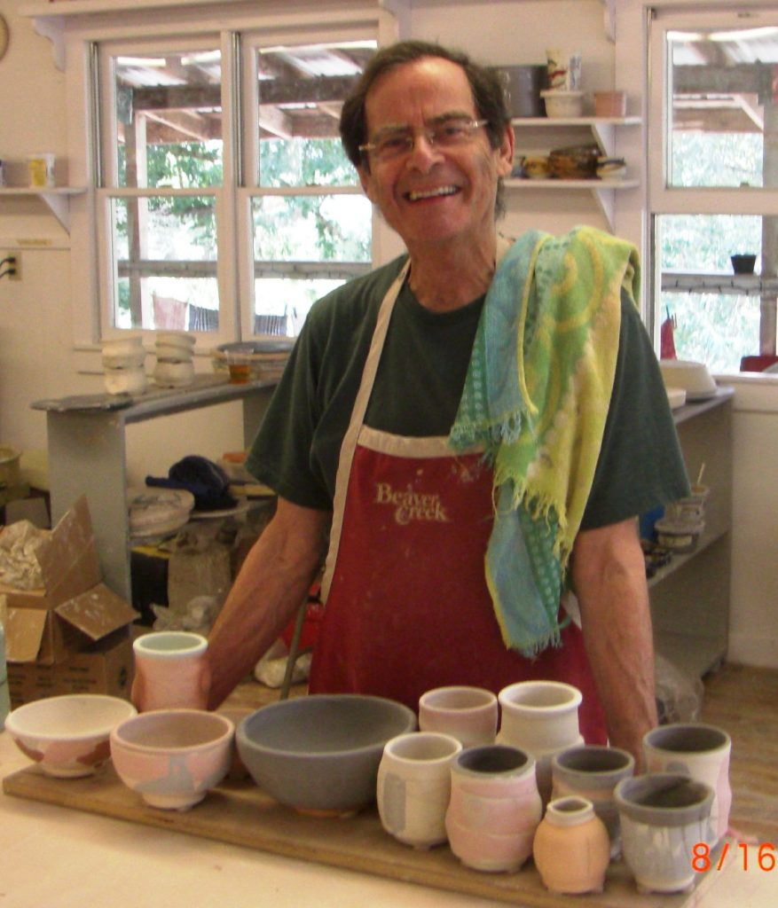 Bobby, an avid potter and yoga enthusiast, has not let cancer ruin his zest for life.