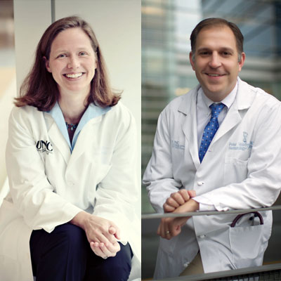 E. Claire Dees, MD, and Peter Voorhees, MD
