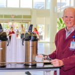 In retirement, Hank Lewis has dedicated his time to volunteering at the N.C. Cancer Hospital.