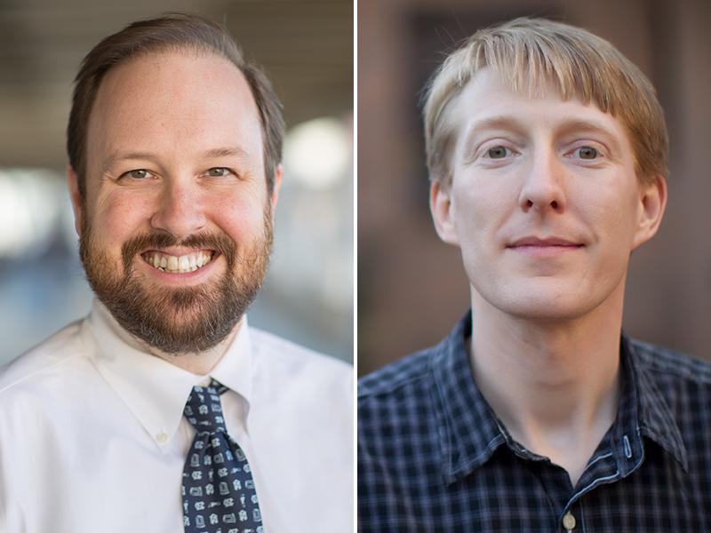Ben Vincent, MD, and Paul Armistead, MD, PhD.