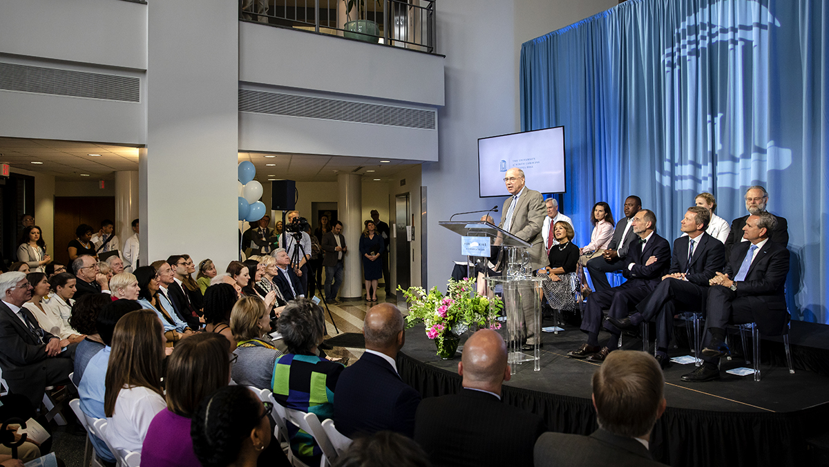The John William Pope Foundation announced a $10 million commitment to the University of North Carolina at Chapel Hill. (Johnny Andrews / UNC-Chapel Hill)