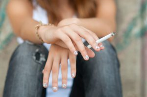 Though many online cigarette sellers have moved overseas in the wake of federal regulation, online tobacco sales to minors continues. Williams found that nearly one in three minors were able to buy cigarettes online.