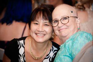 Linda Van Le, MD, and Cindy Carroll