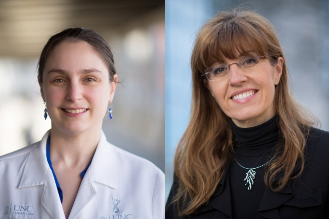 Natalie Grover, MD, and Barbara Savoldo, MD