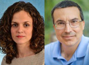 Susana Garcia-Recio and Charles Perou