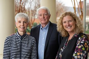 Nancy and Bill Graham with Lisa Carey, MD, FASCO