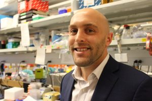 Dan Hollern, PhD, a postdoctoral research associate at UNC Lineberger, was part of the triple negative breast cancer research team