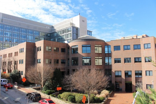 UNC Lineberger building in Chapel Hill, NC