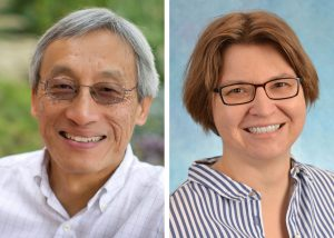 UNC Lineberger's Channing Der, PhD, and Antje Schaefer, PhD.