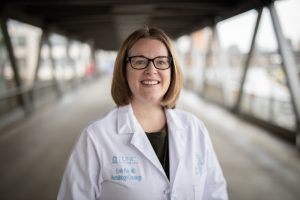 Emily Ray, MD, MPH, received a Young Investigator Award to support her breast cancer research.
