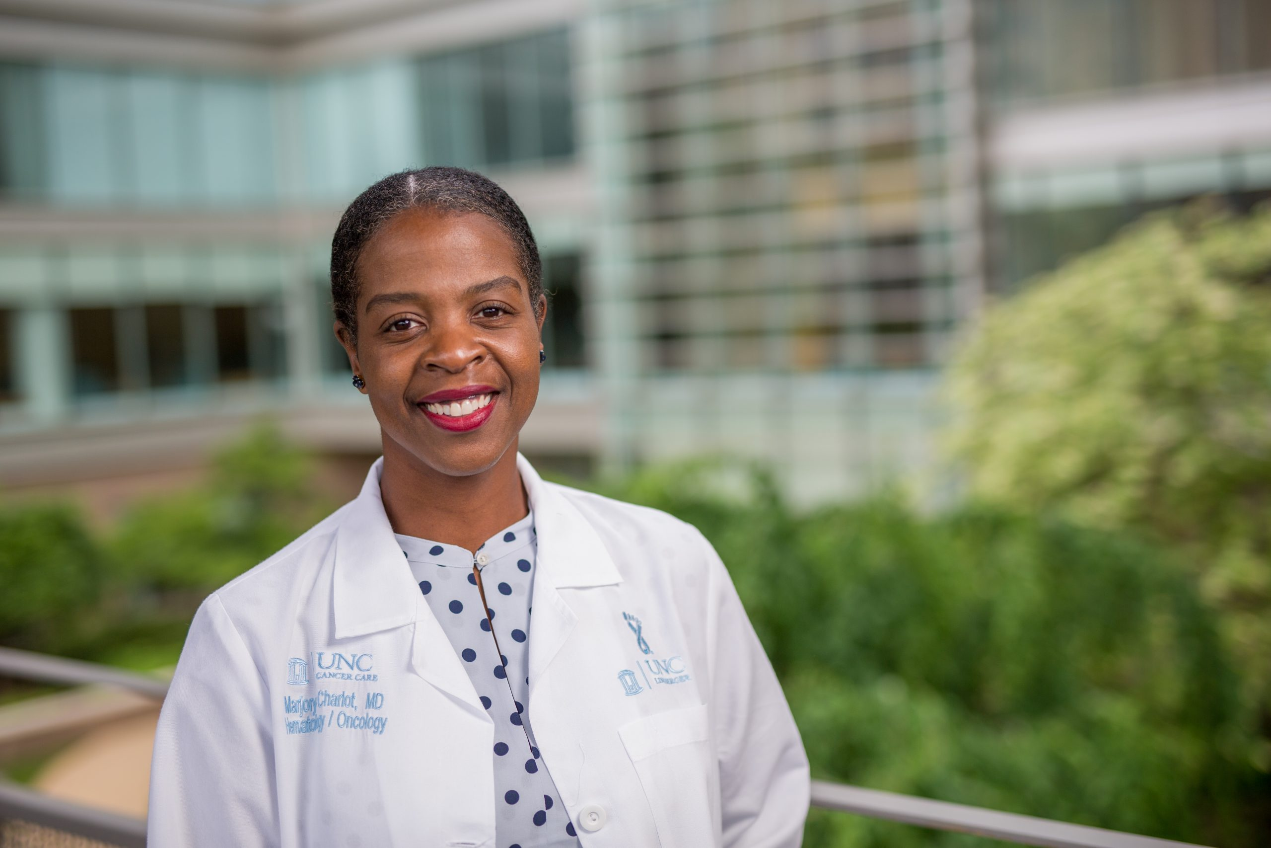 ASCO grant supports Charlot's study of an app to encourage Black women to participate in breast cancer research