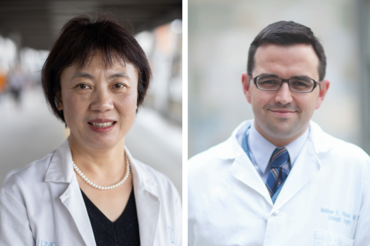 Lixin Song and Matt Nielsen
