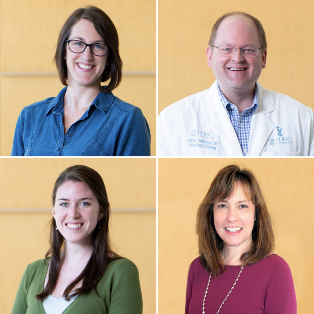 Members of the UNC AYA cancer support program team