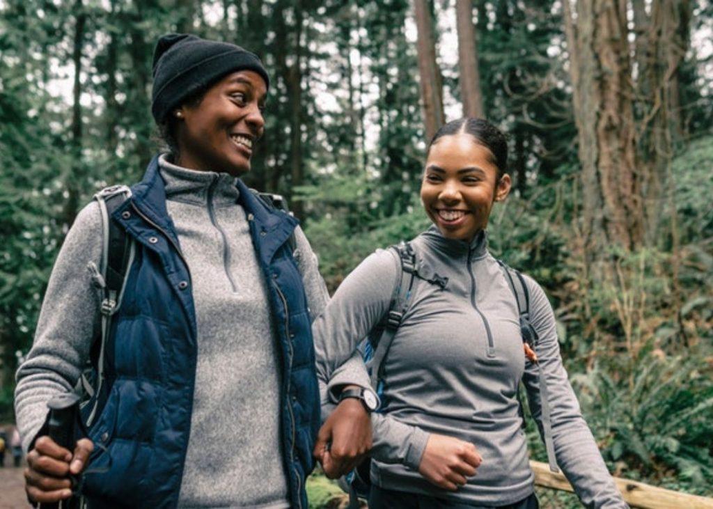 women-hiking-wellness-activity