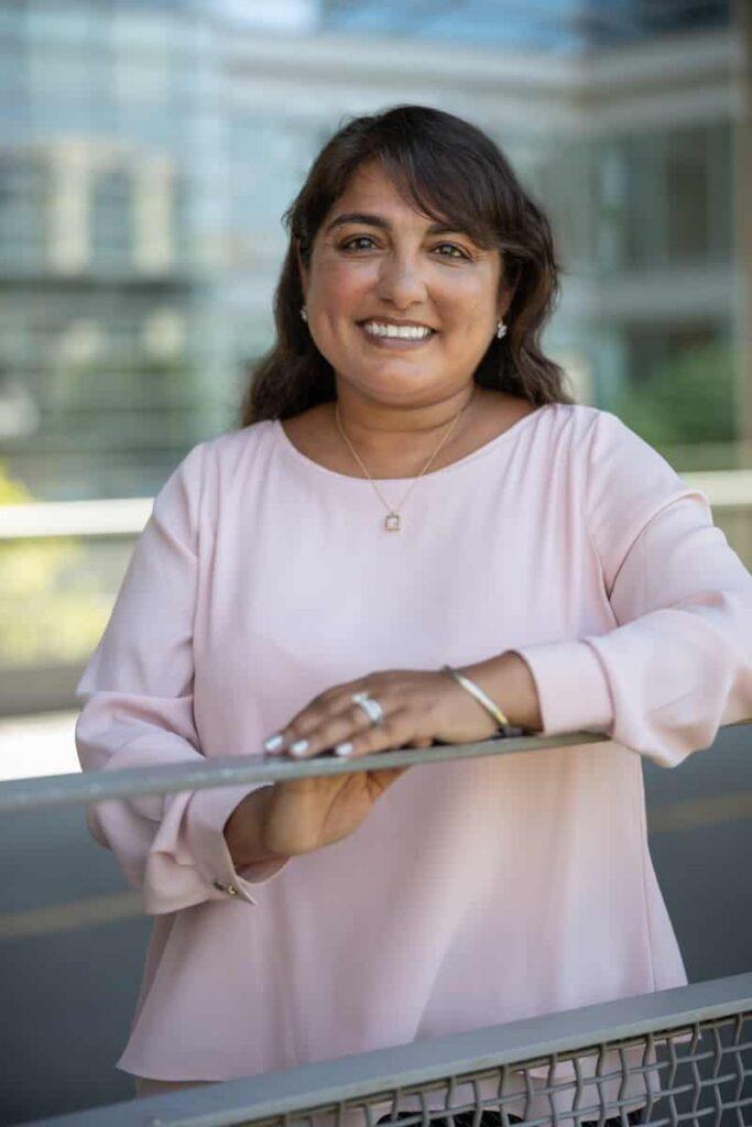 Headshot of Pavita Derebail