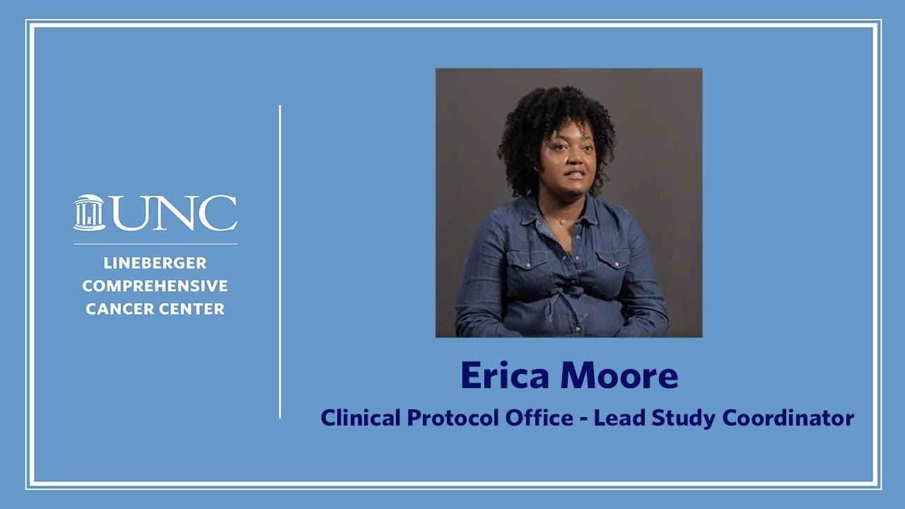 Lead Study Coordinator - Erica Moore