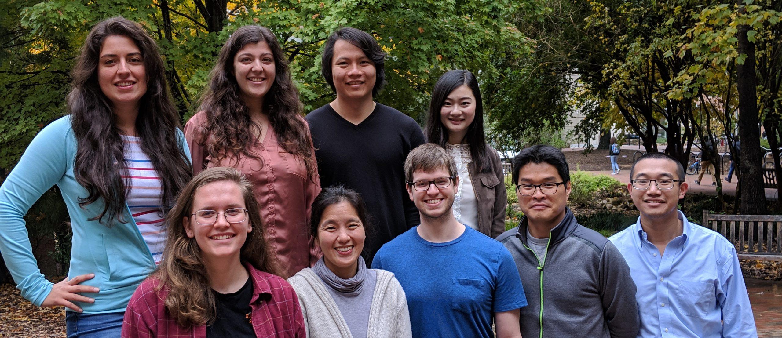 Lab Members Fall 2018